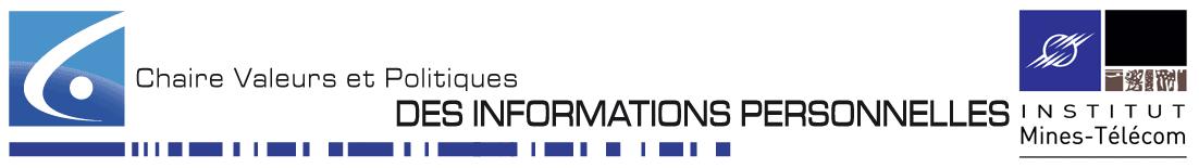 Chaire Valeurs et Politiques des Informations Personnelles